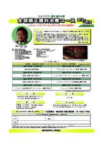 保田先生セミナー2018,2019全顎東京